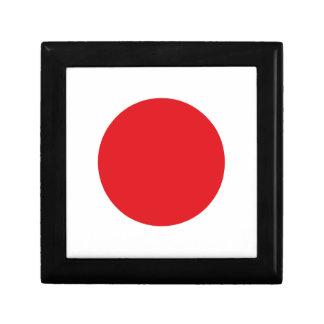 Japan flag gift box