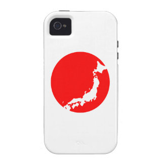 Japan In Ciricle iPhone 4/4S Covers