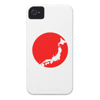 Japan In Ciricle iPhone 4 Case-Mate Cases