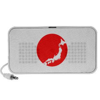 Japan In Ciricle Mini Speakers
