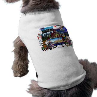 Japan Japanese Archipelago Collage Shirt