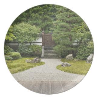 Japan, Kyoto, Sennyuji Temple Garden Plates