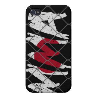 Japan MMA black iPhone 4 case