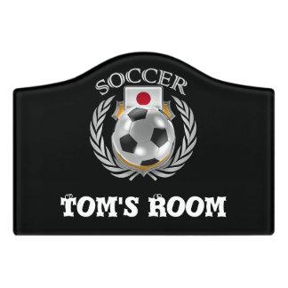 Japan Soccer 2016 Fan Gear Door Sign