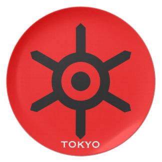 Japan Tokyo City Seal Plate