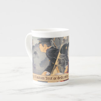 Japanese, active turn of 20th century Hamada Josen Tea Cup