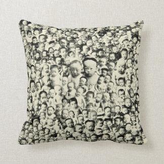 Japanese Baby Collage Cushion