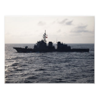 Japanese Battleship Art Photo