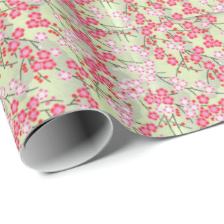 Japanese Blossoms No.3 Wrapping Paper
