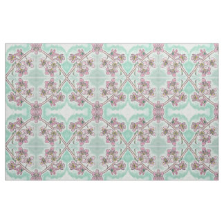 Japanese Cherry Blossoms Fabric