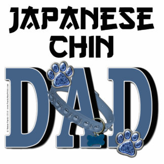 Japanese Chin DAD Cut Outs