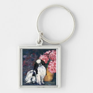 Japanese Chin Key Ring