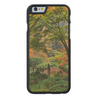 Japanese Gardens In Autumn In Portland, Oregon 4 Carved Maple iPhone 6 Case