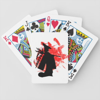 Japanese Girl Bicycle Playing Cards