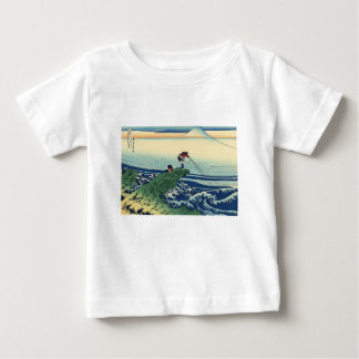 Japanese Hokusai Fuji View Landscape Baby T-Shirt