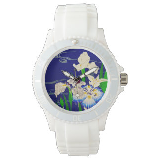 Japanese Irises Watch