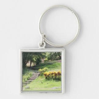 Japanese Peace Park Key Ring