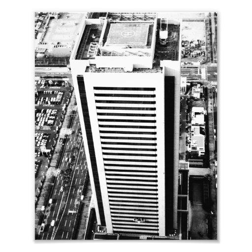 Japanese Skyscraper Photo Art