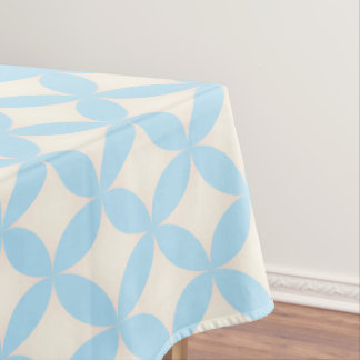 Japanese-style Shippo pastel blue Tablecloth