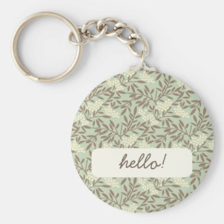 Japanese Style Vine pattern Key Ring
