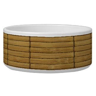 Japanese Tatami Mat, Bamboo Planks - Brown