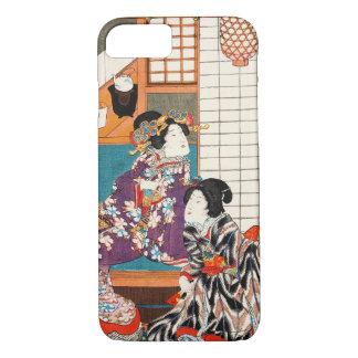Japanese vintage beauty geisha lady woman Maiko iPhone 7 Case