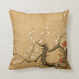 Japanese Vintage Throw Pillow