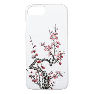 Japanese Wild Plum Petals iPhone 7 Case