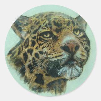 Jaquar Classic Round Sticker