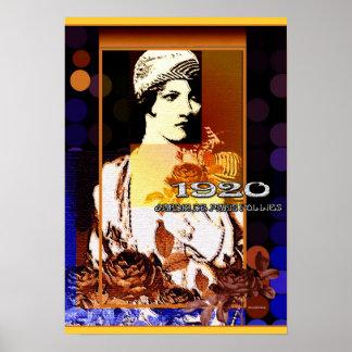 Jardin de Paris Follies 1920 Poster