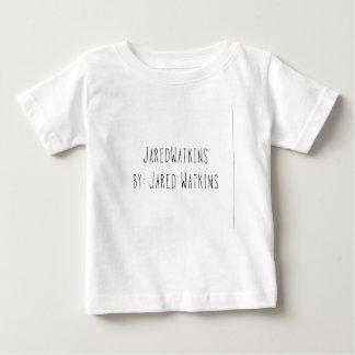 JaredWatkins todd white logo toddler short sleeve Baby T-Shirt