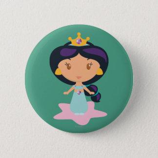 Jasmine Cartoon 6 Cm Round Badge