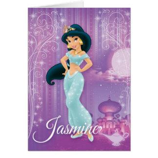 Jasmine Princess Card
