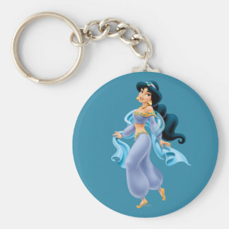 Jasmine Standing Key Ring