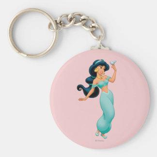 Jasmine with Bird Key Ring