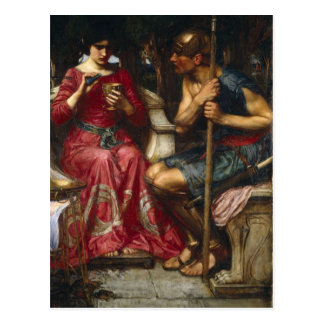 Jason and Medea Postcard