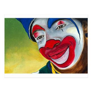 Jason the Clown Postcard