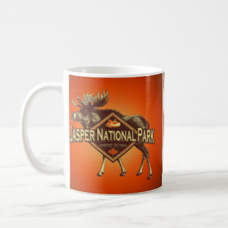 Jasper National Park Moose Coffee Mug