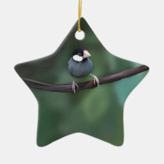 Java Sparrows Christmas Ornament
