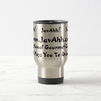 JavAhh! 15 Oz Stainless Steel Travel Mug