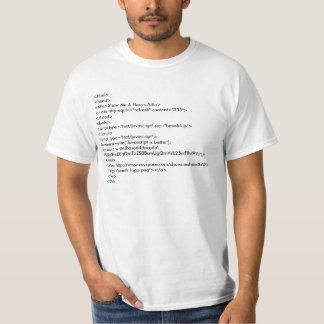 Javascript is Better (white) T-Shirt