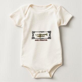 jazz creator frame baby bodysuit