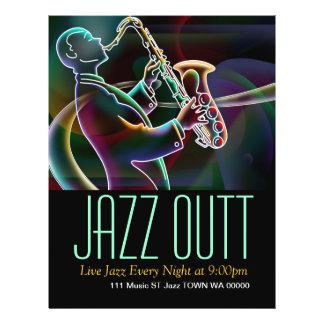 Jazz Music Musician Flyer Invitation