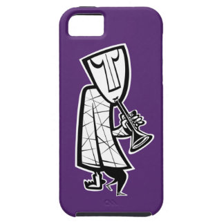 Jazzman horn player iPhone 5 covers