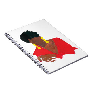 Jazzy Lady Notebook