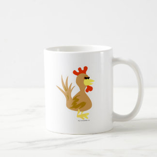Jazzy Rooster Mugs