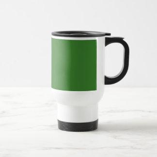 JD Green TEMPLATE Blank DIY add TEXT PHOTO Stainless Steel Travel Mug