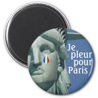Je Pleur Pour Paris Magnet