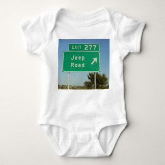 Jeep Road Sign Infant Creeper