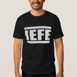 JEFE SHIRTS BY EKLEKTIX BOSS IN SPANISH